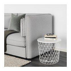 Tavolino Contenitore Ikea.Kvistbro Tavolino Contenitore Bianco A Home
