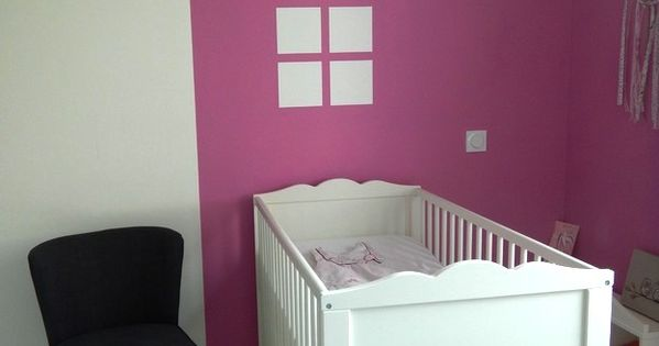 Peinture id e d co pour chambre d 39 enfant baby deco kids s and kids rooms for Idee deco slaapkamer baby meisje