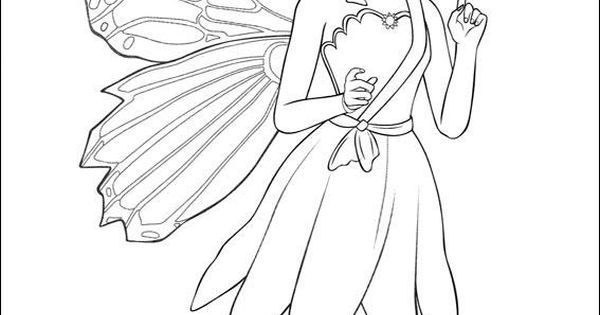 sad fairy coloring pages - photo#5