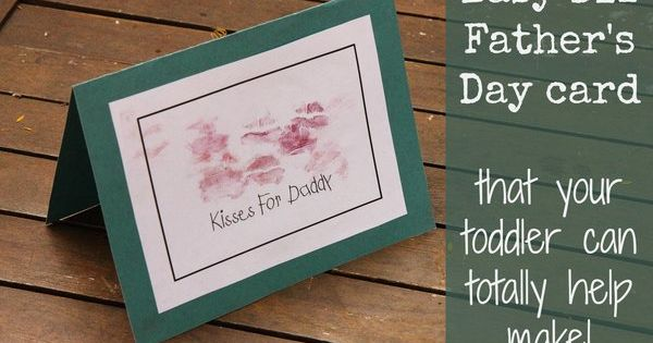 easy father's day projects for preschoolers
