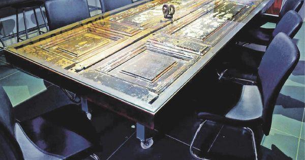 Mesa con puerta decorando ando pinterest mesas - Mesas con puertas antiguas ...