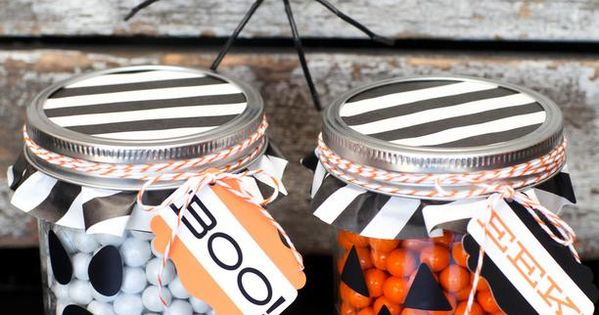 21 Halloween Party Favor and Treat Bag Ideas! halloween crafts