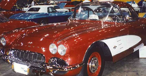 1961 Corvette 315 Hp Fuel Injection Big Brake Rick Cole Auctions 1961 Corvette Corvette Fuel Injection