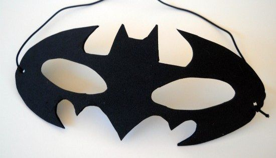 how to batman mask selbstgemacht muster und batman party. Black Bedroom Furniture Sets. Home Design Ideas