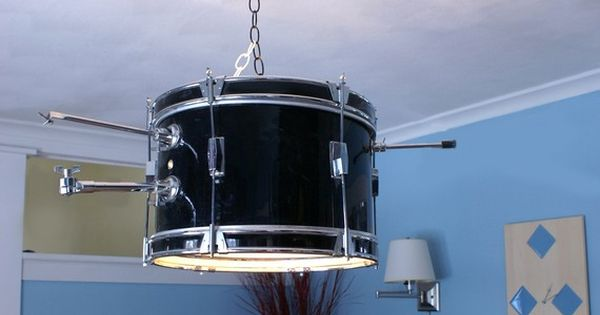 musical drum light pendant large free shipping limited time only snare drum music rooms and plays. Black Bedroom Furniture Sets. Home Design Ideas