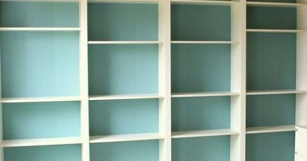 la billy fa on grande biblioth que murale bricolage. Black Bedroom Furniture Sets. Home Design Ideas