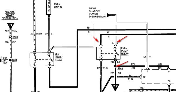 1988 Ford F150 EEC Wiring Diagrams Yahoo Image Search
