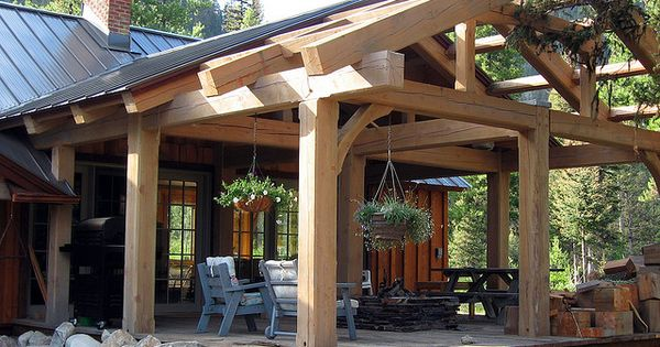 Outdoor Kitchen Lean To Roof