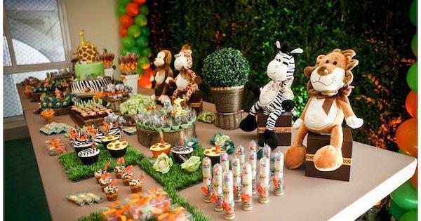 Детский праздник в стиле зоо как сделать детский праздник особенным