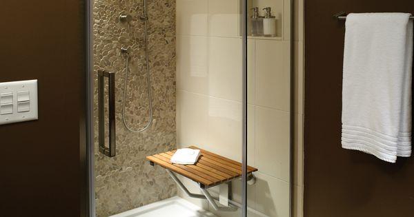 Sitting Area Bathroom Mti Low Profile Multiple Threshold