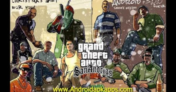 Grand Theft Auto Gta San Andreas 1 06 Full Patched Apk Data