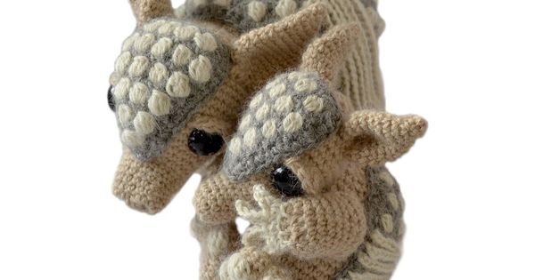 Ravelry: PatchworkMooses Tilda and Earl the Armadillos ...
