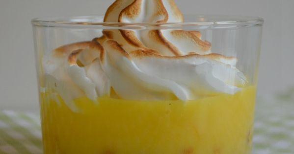 Verrines citron gingembre | :: CITRON :: | Pinterest