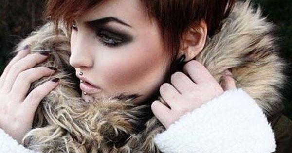 Opzoek naar warme kleuren voor in de herfst 14 korte kapsels met warme kleuren hairstyles - Wat zijn de warme kleuren ...