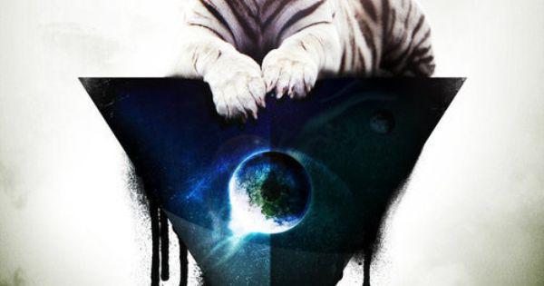 Tiger Triangle Eye illuminati - By Flamur Drummer ...