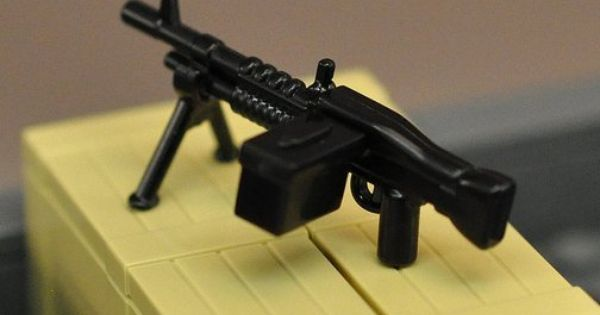 BrickArms SNIPER PACK 5 Guns Bipods Weapons for Minifigures Military NEW