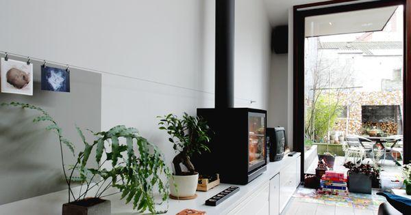 po le poser stuv cube poele a bois chemin e. Black Bedroom Furniture Sets. Home Design Ideas
