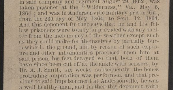 the history of the andersonville prison in the united states A view of andersonville prisoners and tents in august 1864  on april 29, 1864,  43-year-old pvt howell turnage, of company i, 35th united states colored  for  more about north carolina's history, arts and culture, visit.