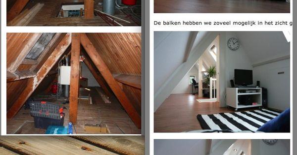 Wat je niet kan maken van een kleine zolder dit wil ik ook zolder inrichten pinterest - Zolder stelt fotos aan ...