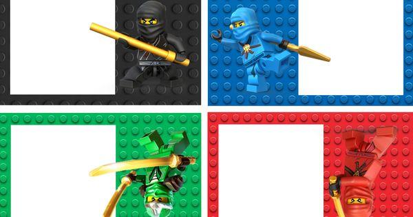 Ninjago Food Labels | Lego Ninja Printables | Pinterest ...
