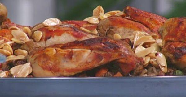 أوزي الدجاج مطبخ رؤيا مع نبيل Food Chicken Meat