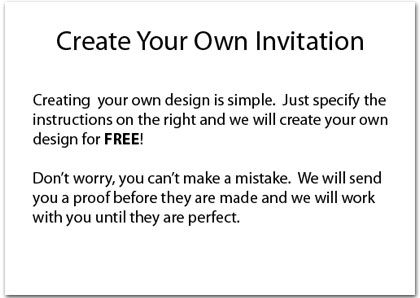 How To Create Make Your Own Birthday Invitations Birthday