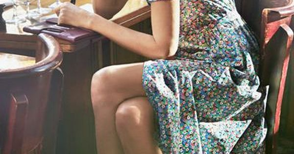 Cotton Lawn Dress / Ines de la Fressange for Uniqlo