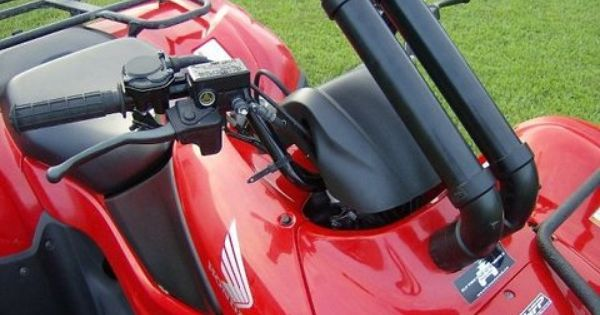 Honda rancher 420 07 14 extreme snorkels kit honda and for Yamaha yxz gear reduction kit