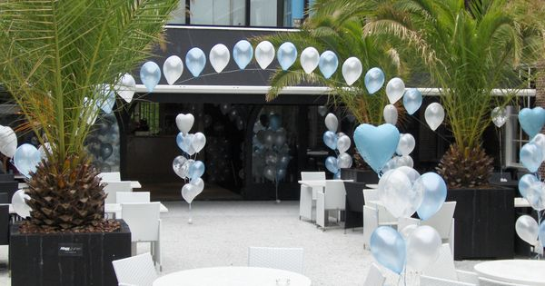 Trosjes heliumballonnen en ballonsliert ballonnen huwelijk pinterest ballonnen en huwelijk - Versier een entree ...