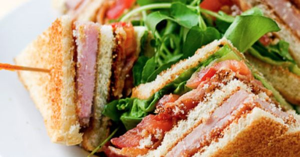 Club Sandwich | Recipe | Club Sandwich Recipes, Sandwich Recipes and ...