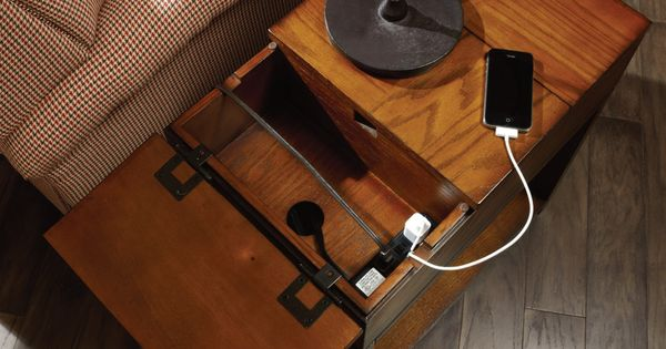 Hidden Charging Stations Should Be Standard On All Chair