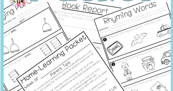 Home Learning Packet Scholastic Big Day For Pre K Theme 5 Week 4
