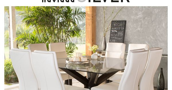 Celebra con estilo! decora tu comedor con sillas blancas y una ...