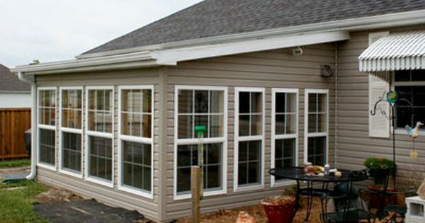 Sun Room Addition For The Home Pinterest The Roof