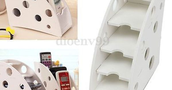 Wooden Tv Air Conditioner Remote Control Holder Storage Case Wall Mount Box Uk View More O Diy Storage Boxes Remote Control Holder Remote Control Organizer