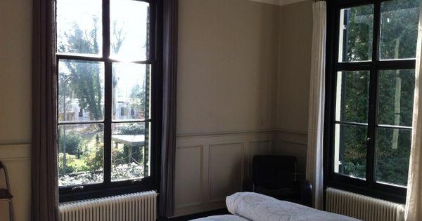 Zwarte raamkozijnen verven interieur pinterest raamkozijnen zwarte ramen en zwarte kozijnen - Kleur grijze leisteen ...