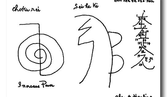 the original symbols as penned by mrs  takata