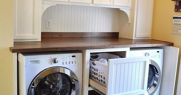 Washer And Dryer Enclosure Ideas Front Loading Washer