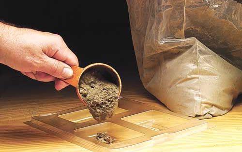 Make Your Own Pot Feet Garden Gate Gardens And Garden Pots