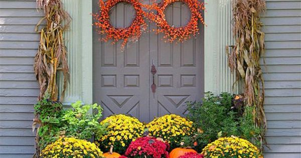 Fall decor for photo only, but how do you get to the