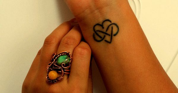 Infinity Heart Tattoo On Wrist - http://tattoosaddict.com/infinity-heart-tattoo-on-wrist.html heart, infinity, infinity tattoo, infinity