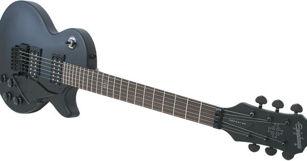 epiphone goth les paul studio with a floyd rose double locking tremolo system cocoon. Black Bedroom Furniture Sets. Home Design Ideas