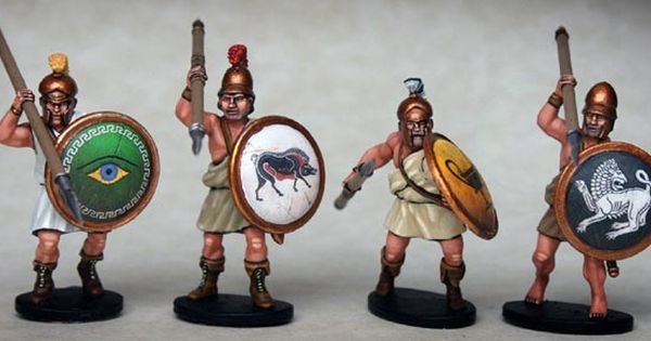 8 Spartan Armoured Hopltes Victrix Plastic Sprue 28mm Ancient Romanic