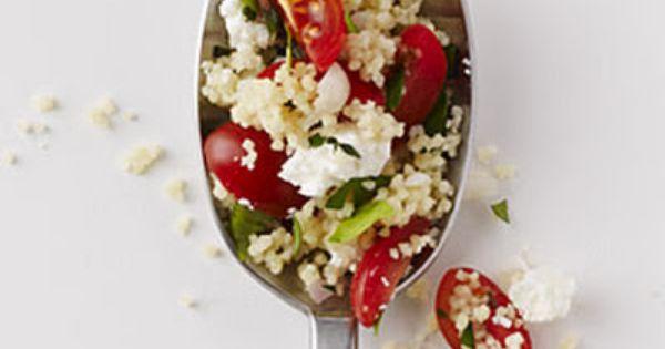 Herbed Couscous Pilaf   Recipe   Feta, Tomatoes and Greek Seasoning