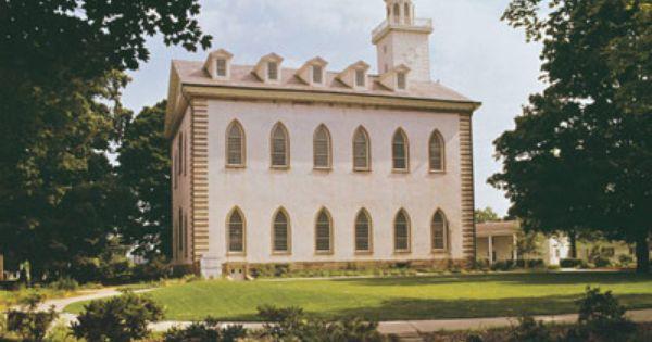 Kirtland Temple Kirtland Ohio Kirtland Temple Temple Mormon