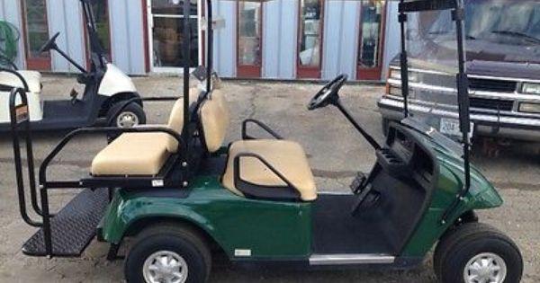 Like New 2010 Ez Go Txt Green Golf Cart With 2012 Batteries Golf Carts Golf Car Golf