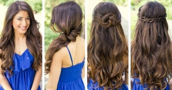 Lovely Easy Cute Hairstyles For Long Hair Download Gaya Rambut Medium Rambut Panjang Gaya Rambut Simpel