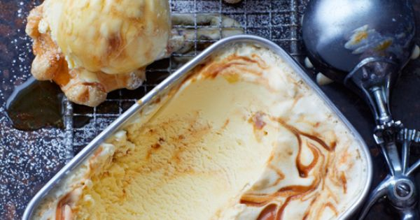 Ginger Ice Cream with Ginger Caramel Swirl | Desserts and Treats ...