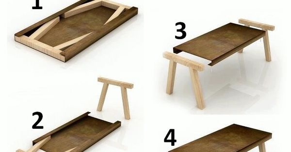 Diy Folding Table Organizing Ideas Pinterest Monitor