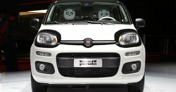 2018 Fiat Panda Facelift Fiat Panda Fiat Kung Fu Panda